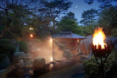 篝火(かがりび)の湯緑水亭