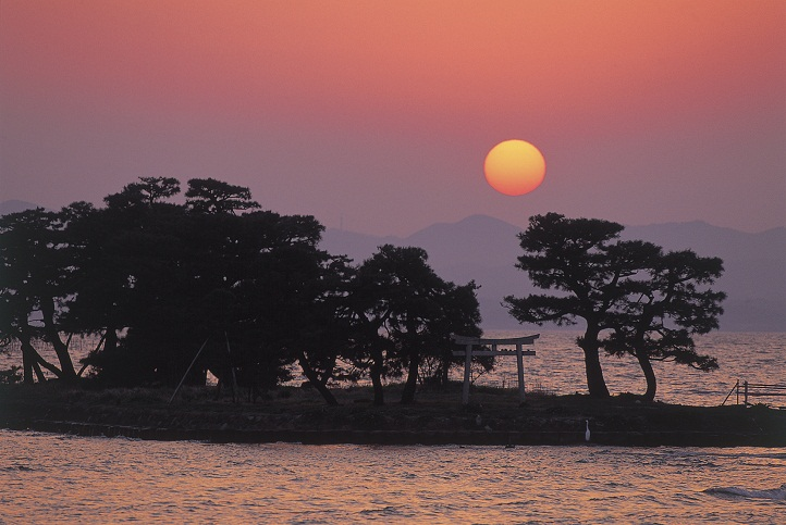 宍道湖(島根県松江市・出雲市)