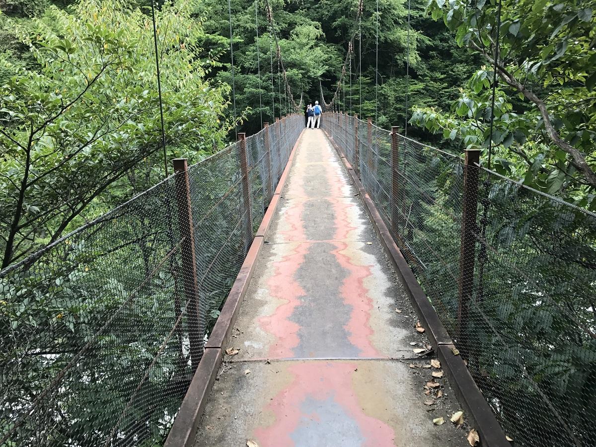 二俣吊り橋