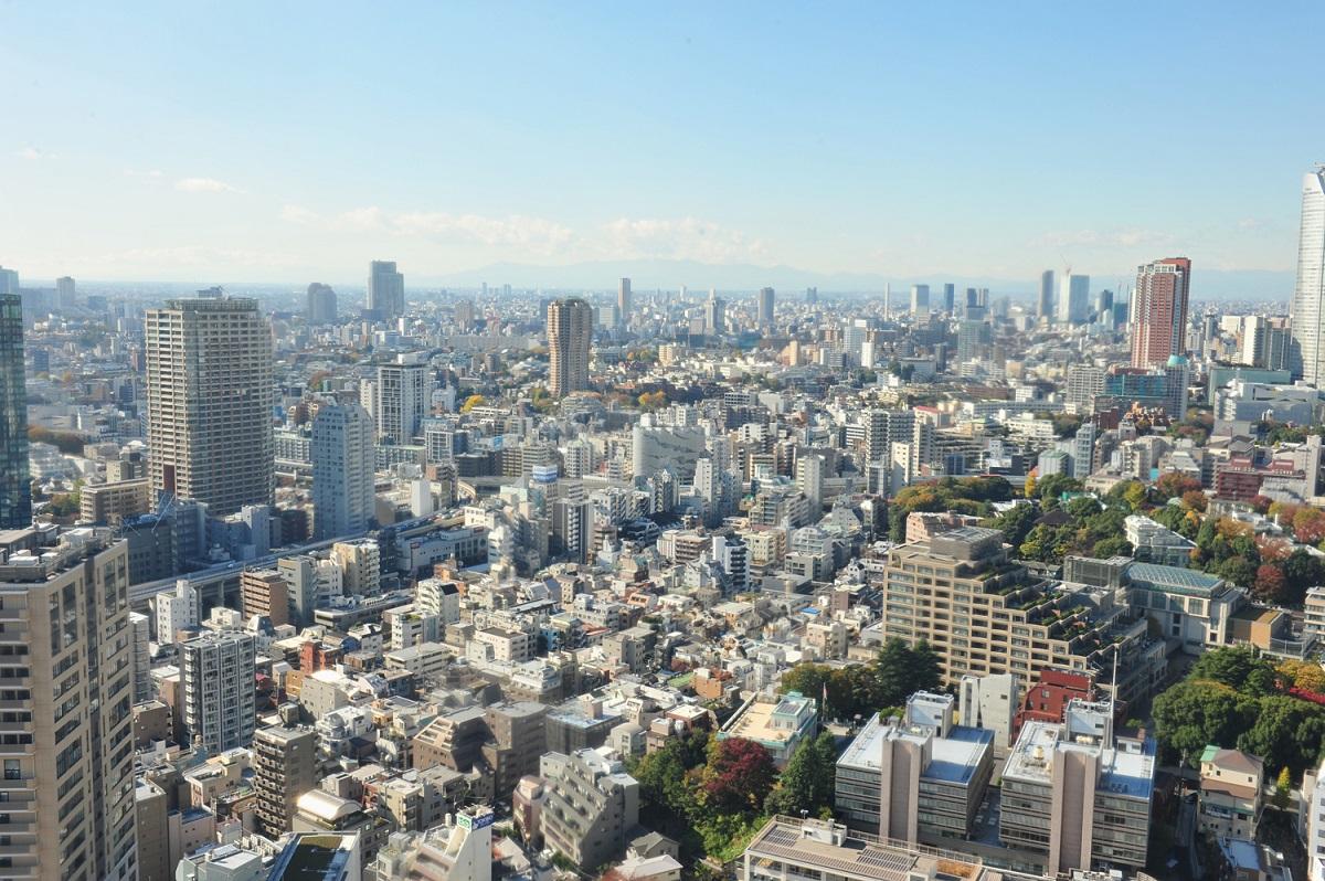 東京タワーからの絶景